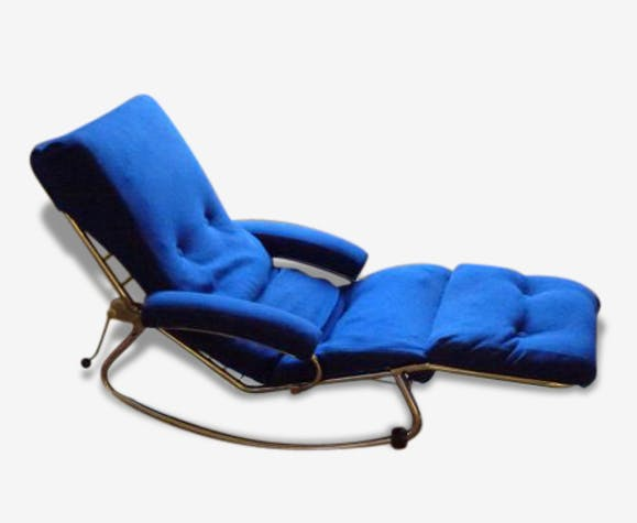 Longue 70 Lama Chaise Blue Design 74486 Fabric Années NwkXZP8nO0