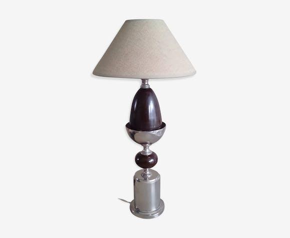 Lampe métallique des années 50