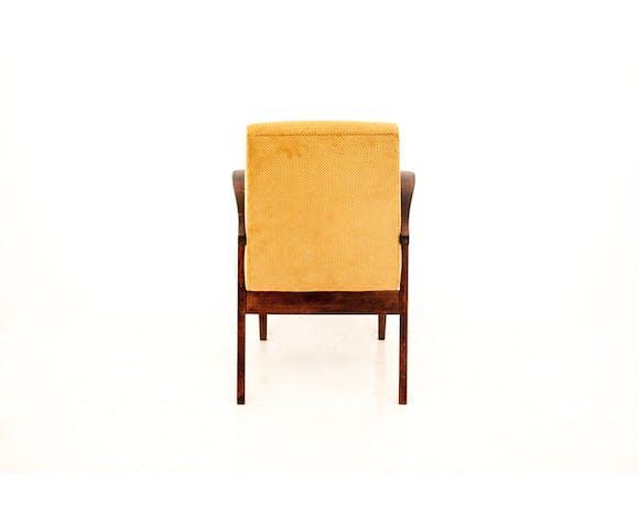 Yellow armchair 1960