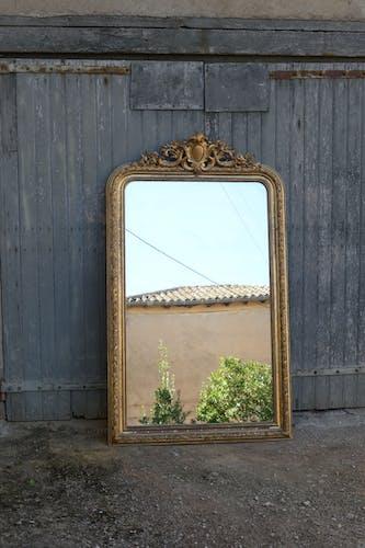 Miroir fin XIXéme antique 180x100cm