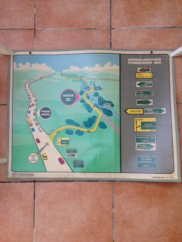 Road code displays