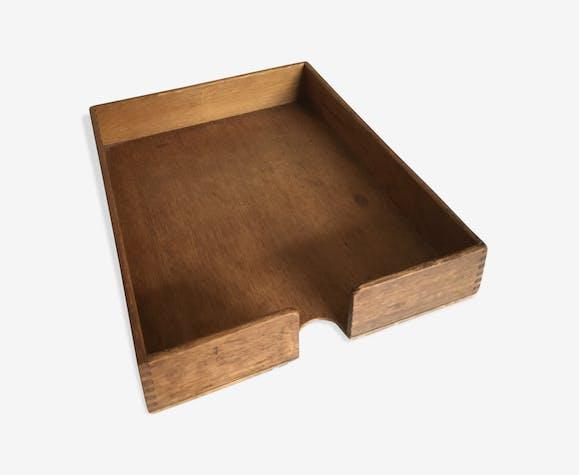 bannette range courrier en bois ann es 50s bois. Black Bedroom Furniture Sets. Home Design Ideas