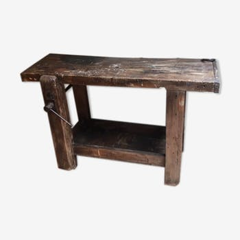 meuble de m tier comptoir tabli vintage d 39 occasion. Black Bedroom Furniture Sets. Home Design Ideas