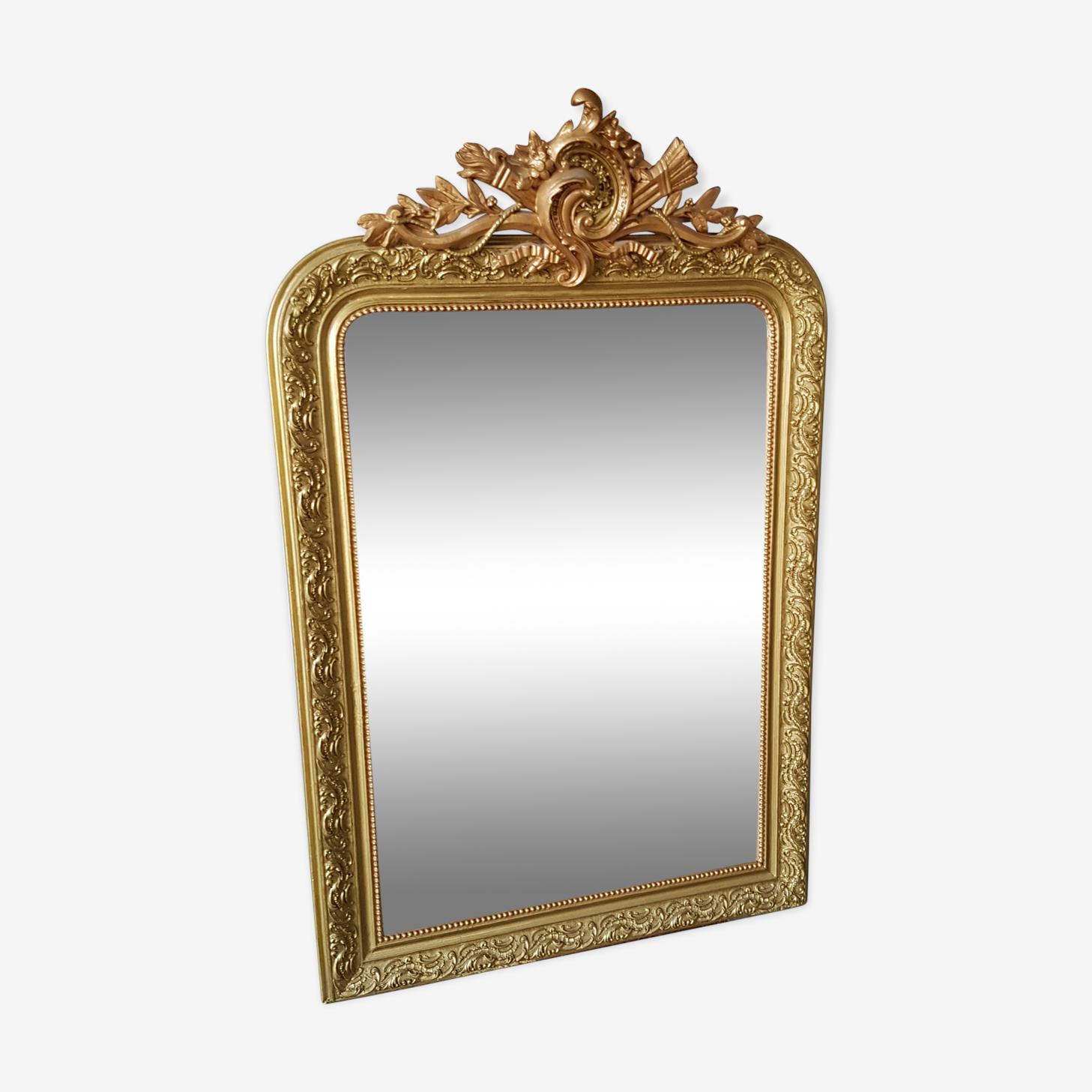 Miroir style Louis XV 73x116cm