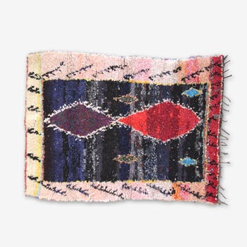 Carpet boucharouette 190 x 140