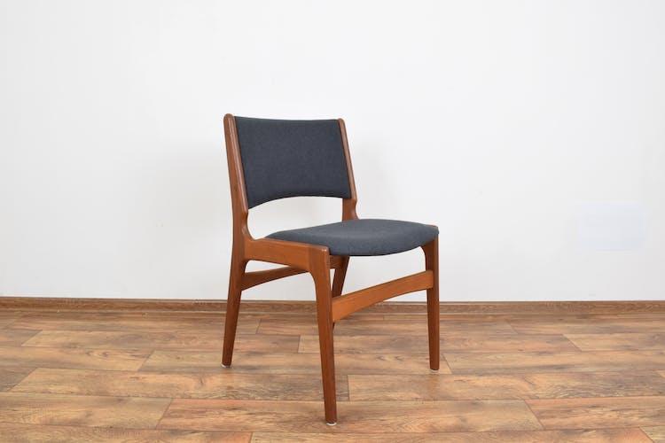 Mid-Century Danish Chairs Model 89 by Erik Buch for Anderstrup Møbelfabrik, 1960s, Set of 4