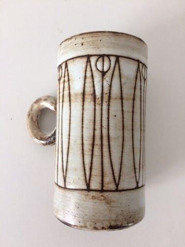 Chope grès Pouchain l'Atelier Dieulefit 1960
