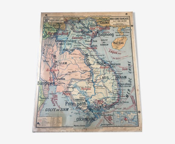Vidal-Lablache Map No.36 and 36 bis