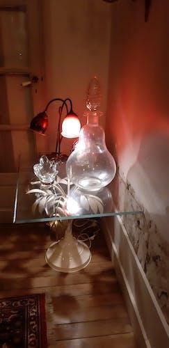 Crystal pharmacy carafe