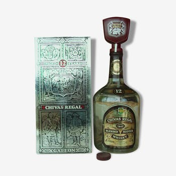 Bottle of CHIVAS 1 US gallon