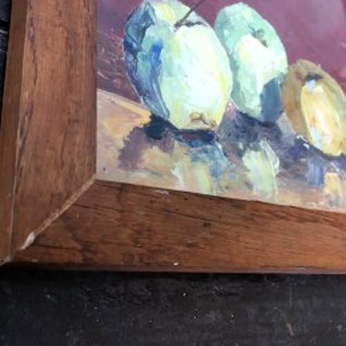 """Tableau """"Les pommes"""""""