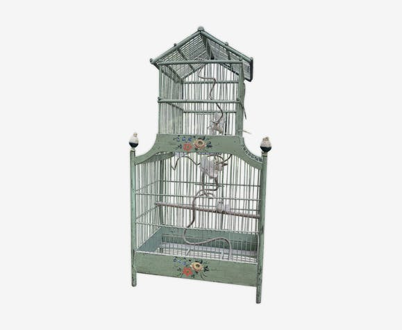 Vintage bird cage XIX