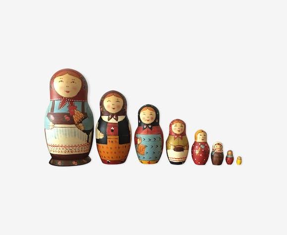 Poupées russes matriochkas vintage