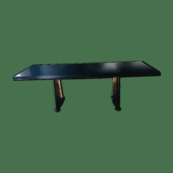 Trapèze Bon État Contemporain Dfg90zj Table Noir Prouvé Jean Métal UpqSVzGM