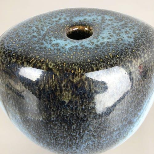 Vase abstrait en grès du studio de céramique de Gotlind Weigel, Allemagne, années 1960
