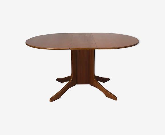 Wuct3lh Manger À BoiscouleurVintage Table Extensible Teck clFK1J
