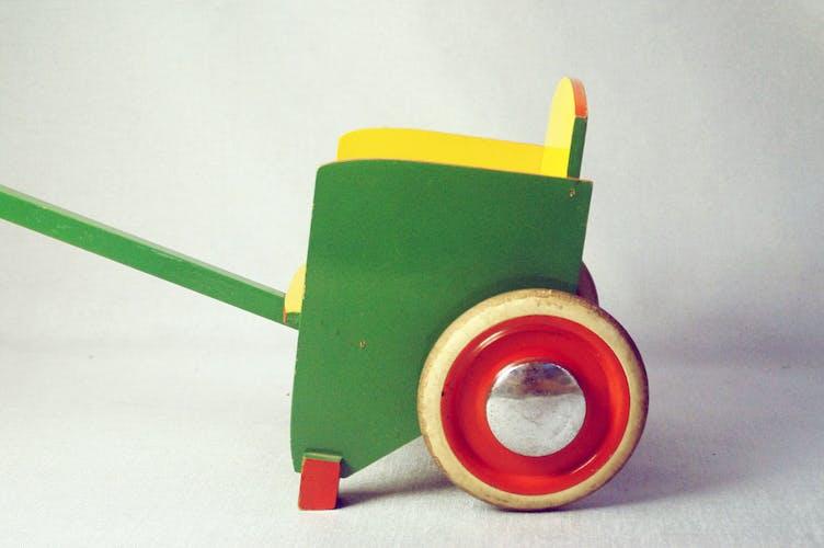 1950 child trolley