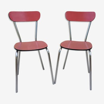 Set of two Formica chairs