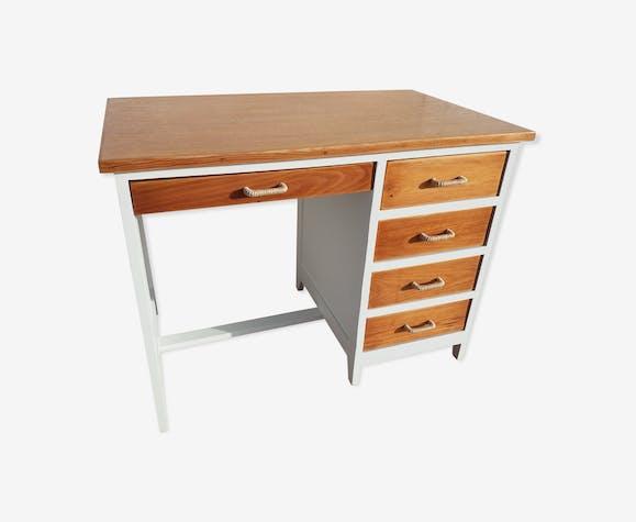 Bureau écolier année 50 avec tiroirs