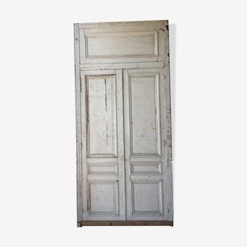 Double closet doors
