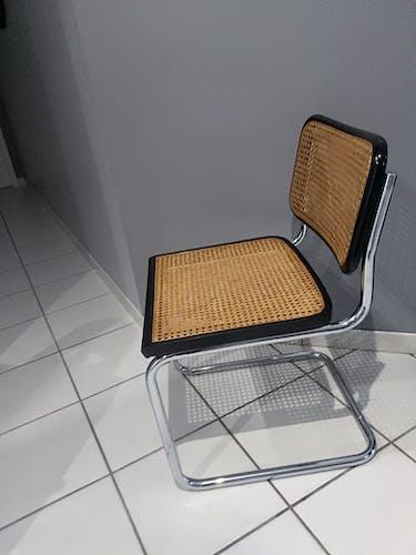 Chaise Cesca B32 par Marcel Breuer vintage