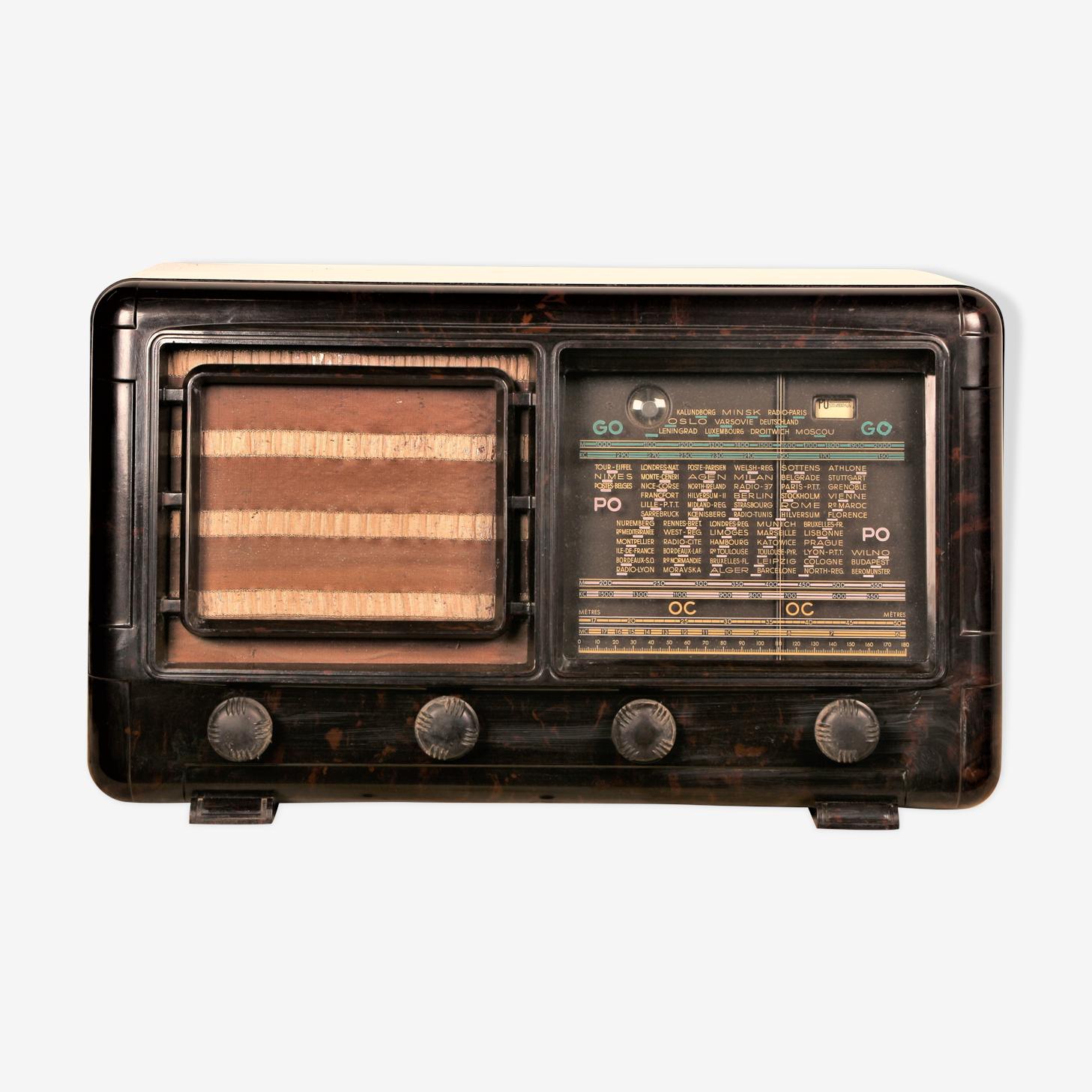 """Radio tsf vintage bluetooth """"Ondia"""" 1945"""