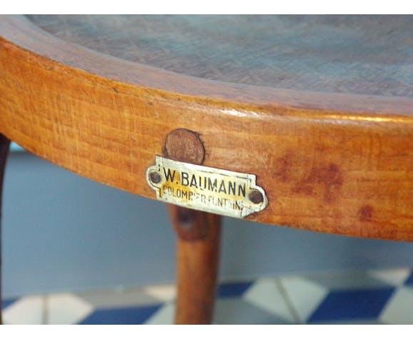 Chaise enfant Baumann en bois courbé