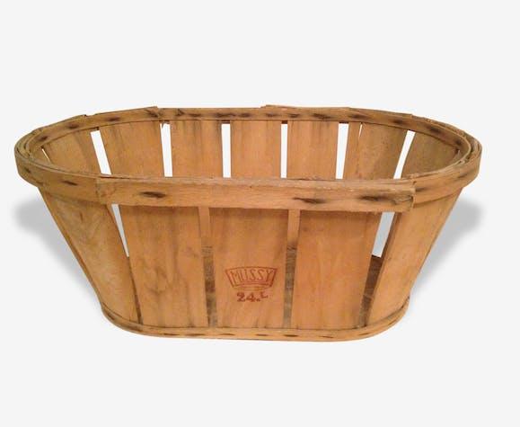 cagette fruits l gumes ancienne en bois mussy vintage bois mat riau marron vintage