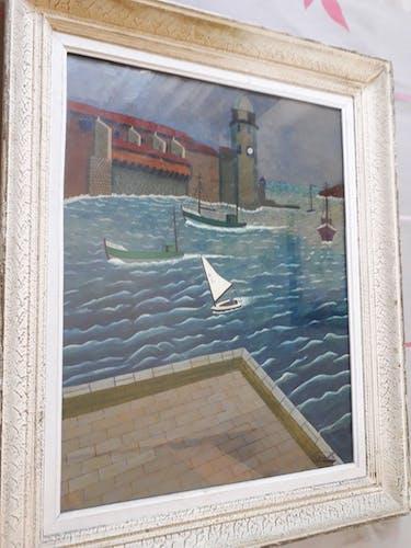 Tableau décor bord de mer