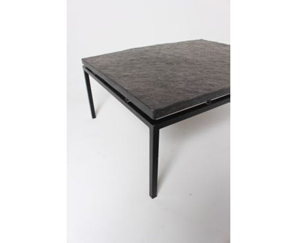 Coffee table in Slate, Germany, 1960 s