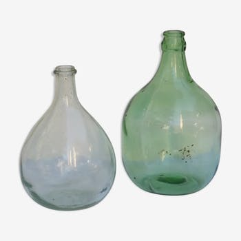Two demijohns