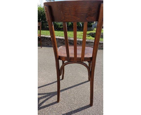 Set de 28 chaises bistrot vintage
