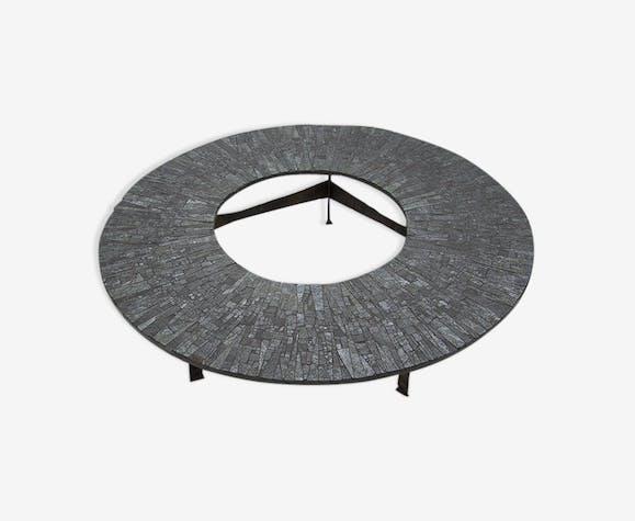 Table basse circulaire de Pia Manu