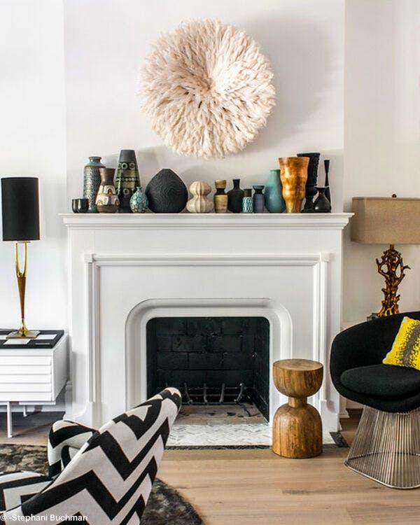 que mettre au dessus de la chemin e. Black Bedroom Furniture Sets. Home Design Ideas