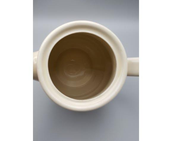 Théière cafetière avec 3 mugs tasses Porcelaine et Feu Jet Nomar