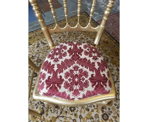 Chaises de théatre Napoléon III