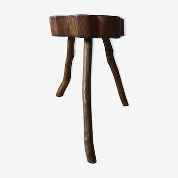 Vintage farm wooden stab