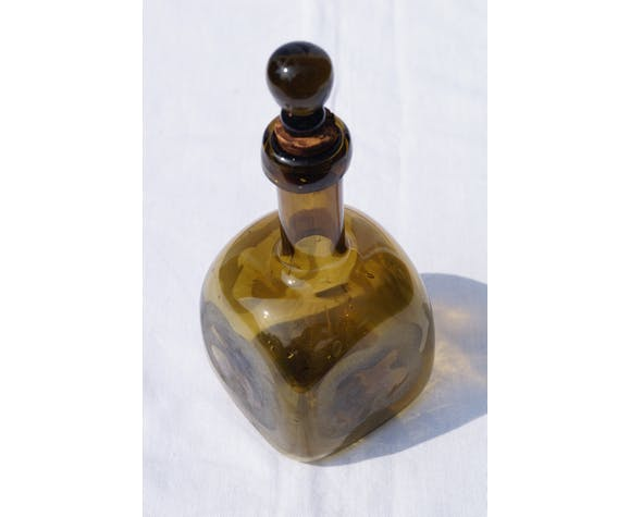 Bottle with glass stopper