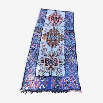 Carpet boucherouite 220 x 130 cm