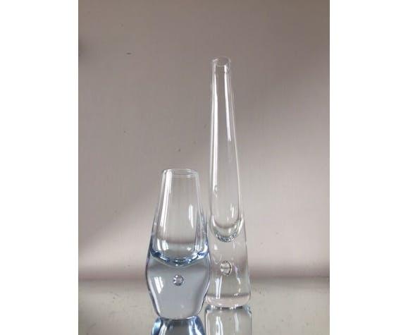 Ensemble de 2 vases Holmegaard par Per Lutken