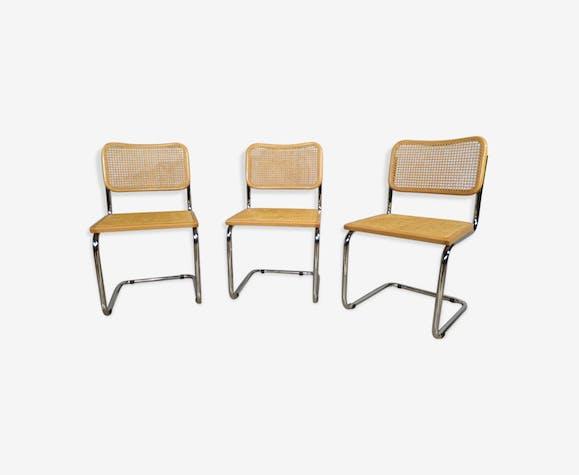 Lot de 3 chaises B32 par Marcel Breuer