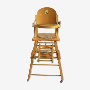 Breakthrough for vintage baby high chair