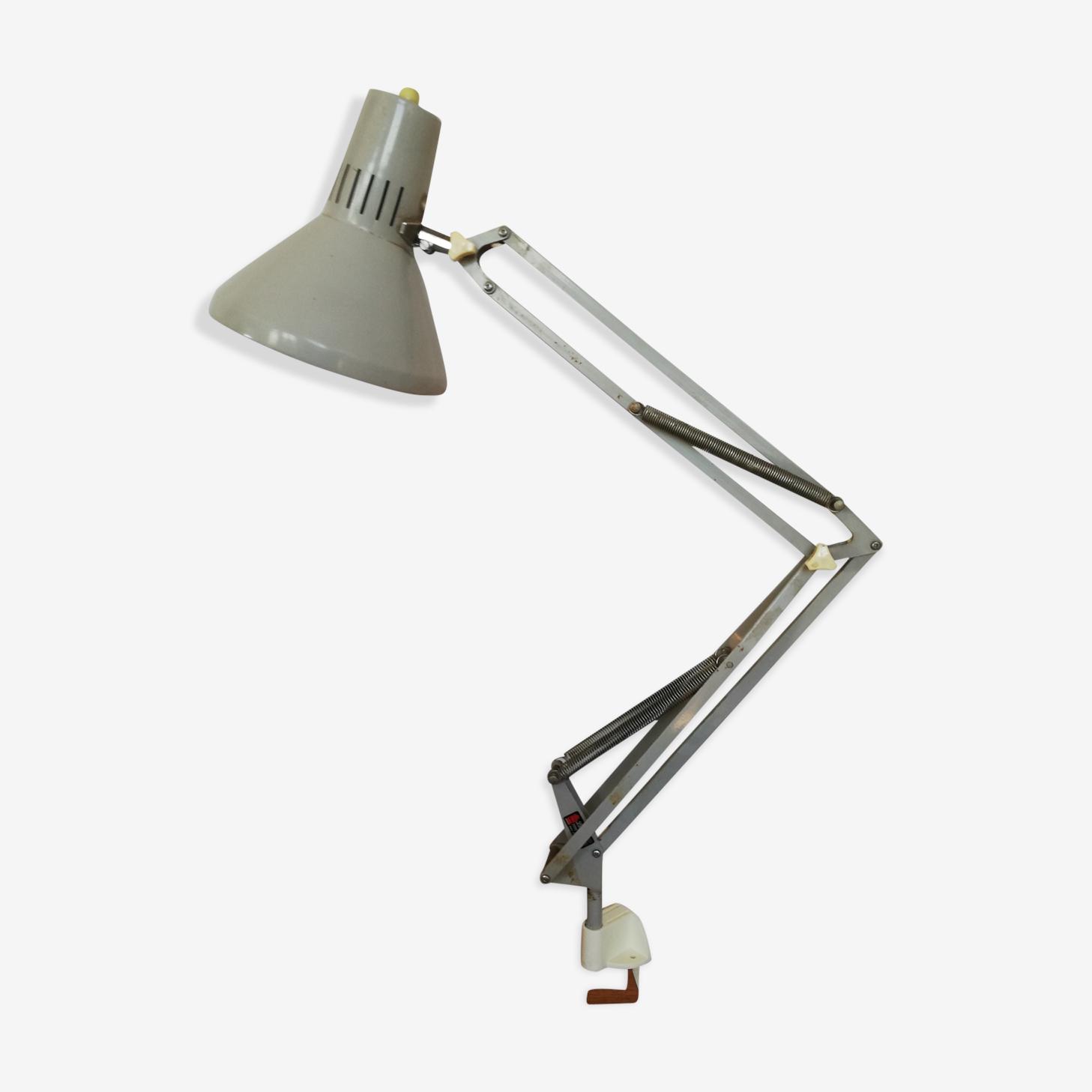 Lampe bureau architecte atelier Ledu vintage 60 70