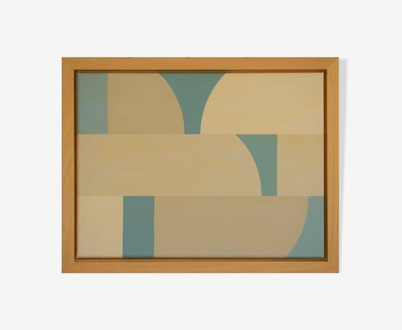 Peinture sur toile 30X40cm, art contemporain