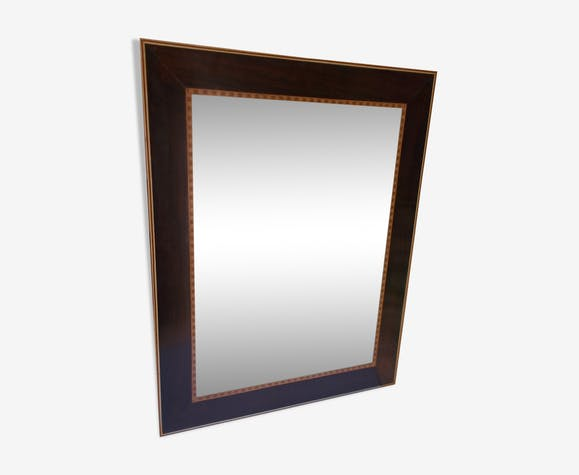 Miroir en marqueterie 61x47,5cm