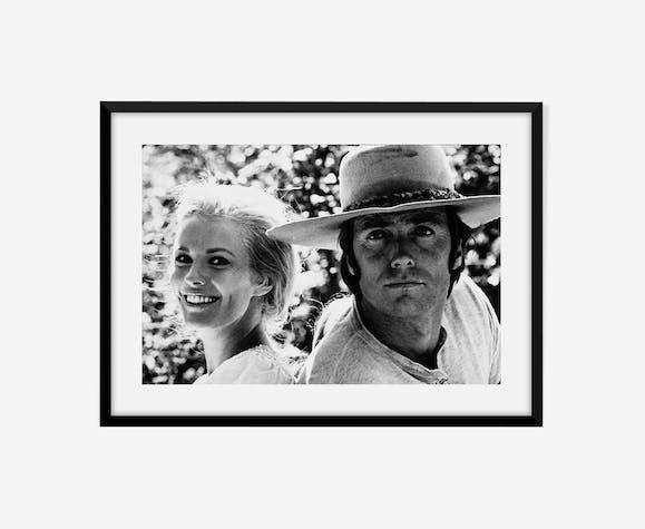 Clint Eastwood et Jean Seberg