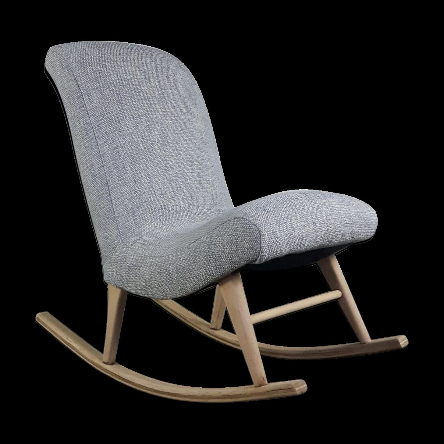 Scandinavian Rocking Chair   Wood   Grey   Scandinavian   GAFLABD
