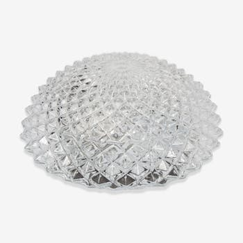 Ceiling round 60's glass