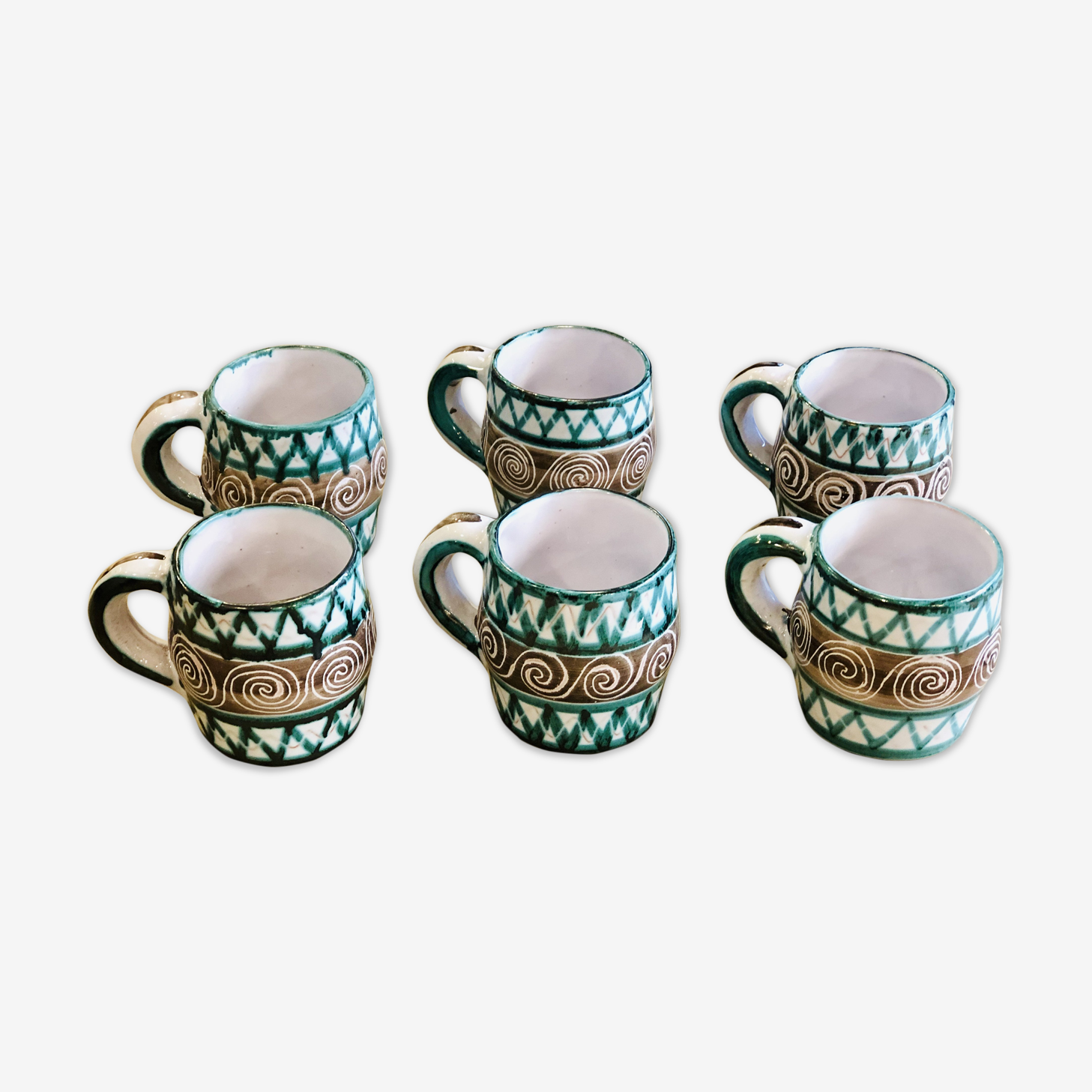 6 mugs Robert Picault