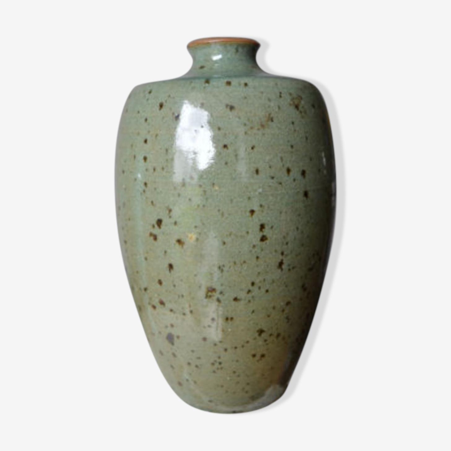 Terminal time 1970 sandstone vase